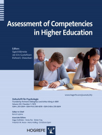 Assessment of Competencies in Higher Education