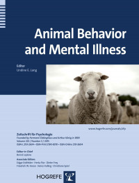 Animal Behavior and Mental Illness